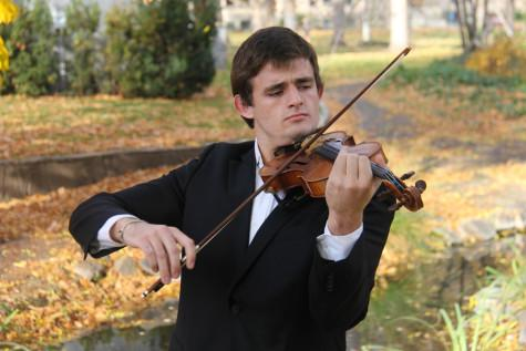 Junior Principle Player Exudes Passion for Violin