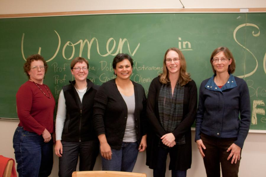 Women in Science Panel Captivates Crowd
