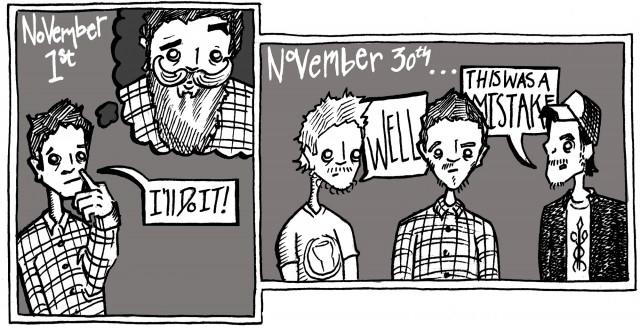 Mease Not Mooses: No-Shave November