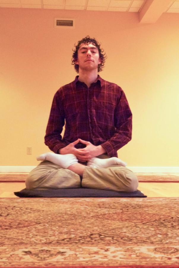 Meditating with Sebastian Lowe