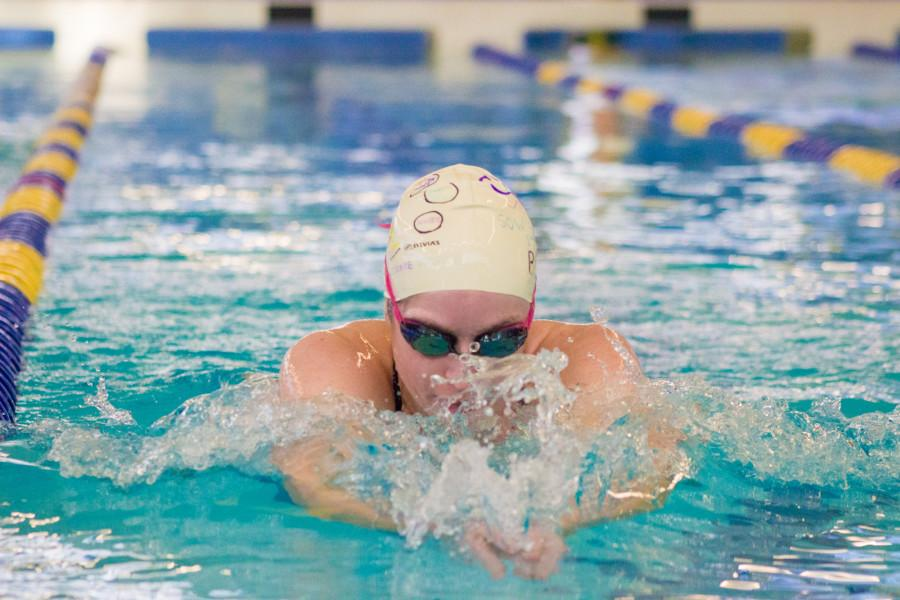 Collins Swims Her Way to Record-Breaking Career