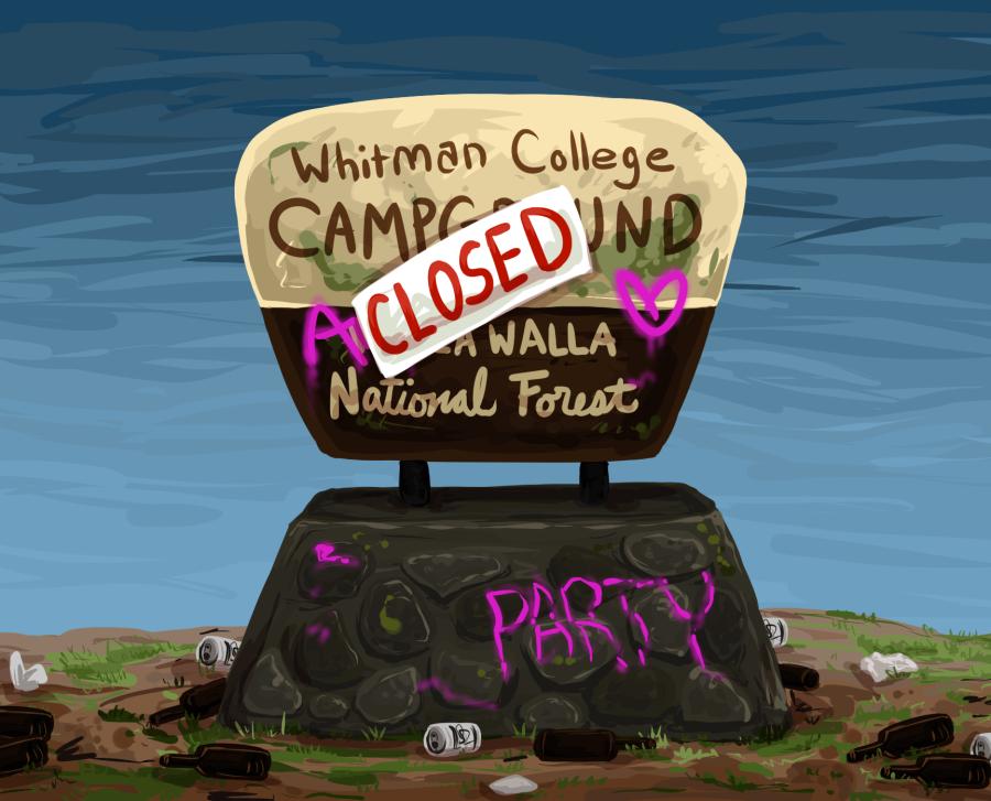 Residence Life Shuts Down Camp Whitman