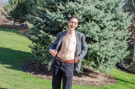 Percival Dazzles Campus with Style, Physique