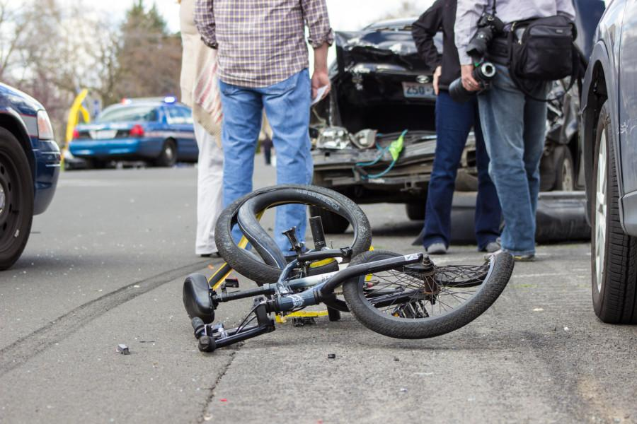 Driver Hits Cars, Bicyclist on Park Street