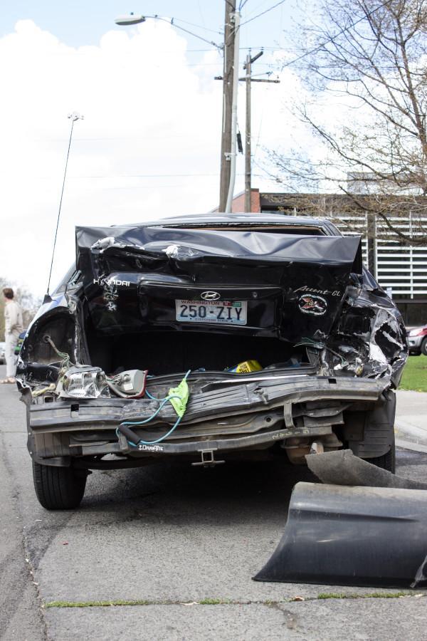 Multi-car Collision on Park Street Leaves Community Shaken, Unharmed