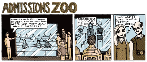 Mease not Mooses: Admissions Zoo