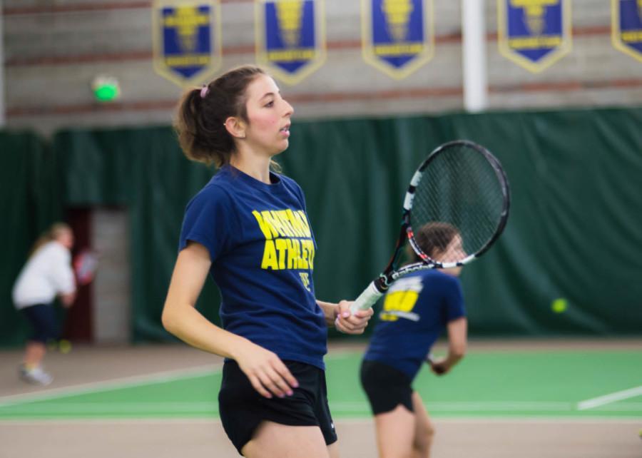 Womens Tennis Sets Sights on Regionals