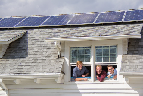 Phi Delta Theta Installs New Solar Panels