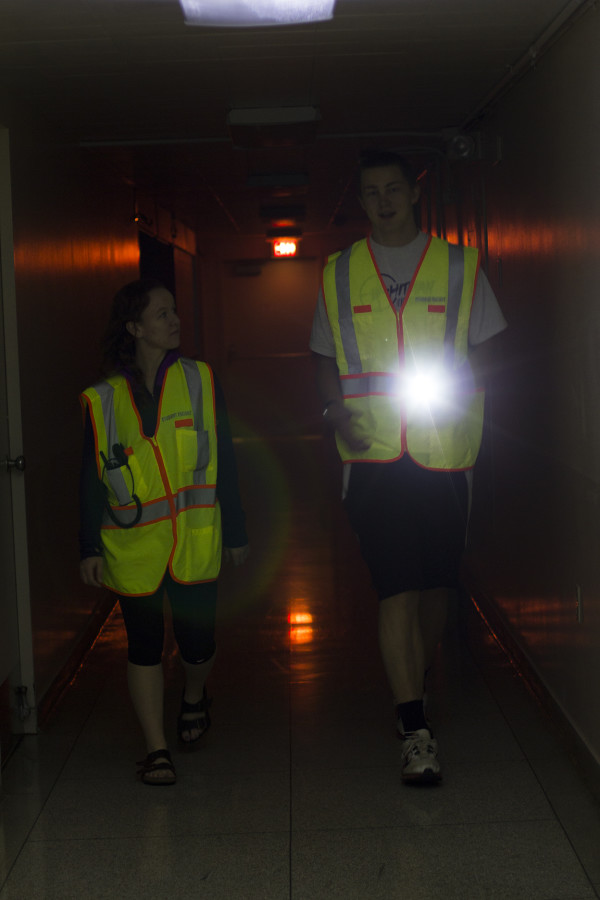 Escort team makes campus security visible