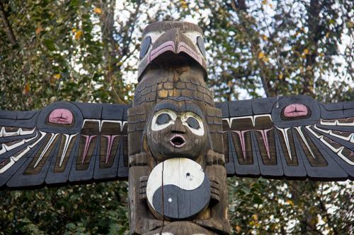 Sculptures bring various cultures to campus