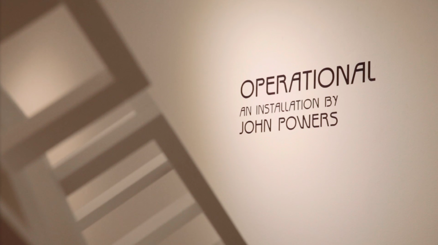 Artist John Powers Creates Installation Piece in Stevens Gallery