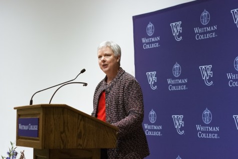 Kathleen Murray Named Whitman's New President