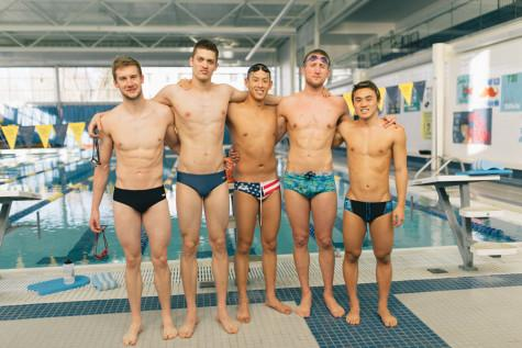 Record-breaking swim season continues for select athletes