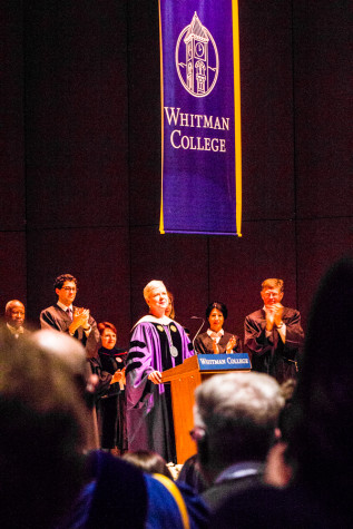 President Murray installed as 14th President