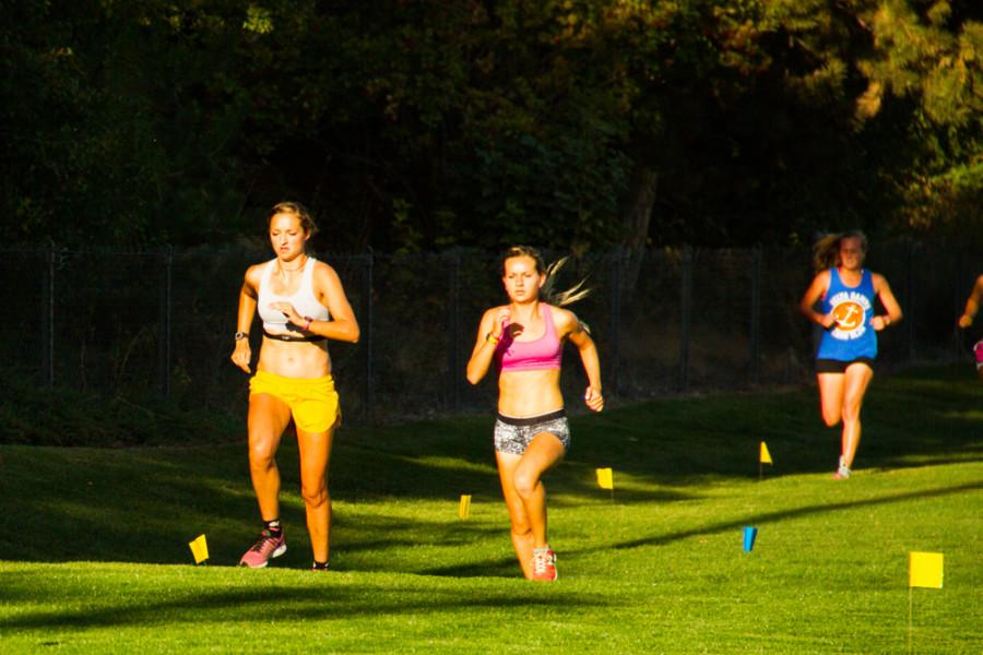 Women's XC sprints towards strong conference finish