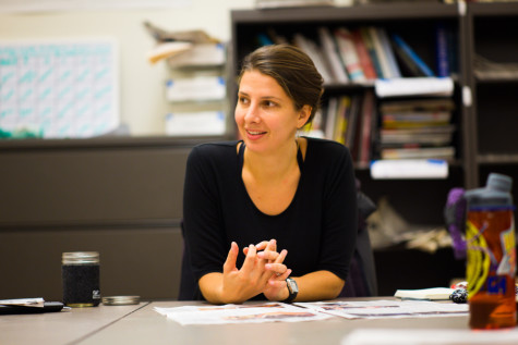 Visiting journalist Dawn Paley co-teaches course on media writing