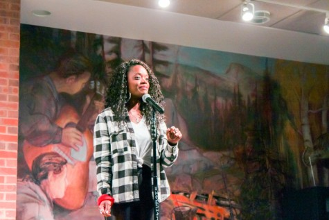 Ebony Stewart brings poems and lessons to Whitman