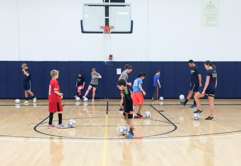 Soccer Brings Community to Campus With Youth Clinics