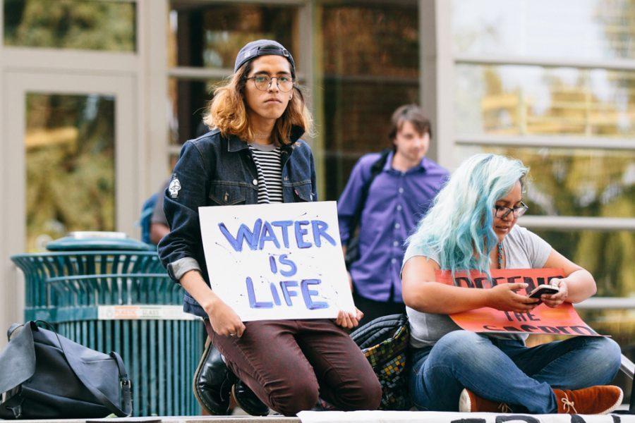 IPECC Rallies Against Dakota Access Pipeline