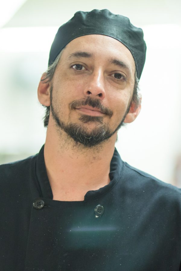 Jeff Minto, Exhibition Chef: I am, and you should always vote, otherwise democracy is pointless.