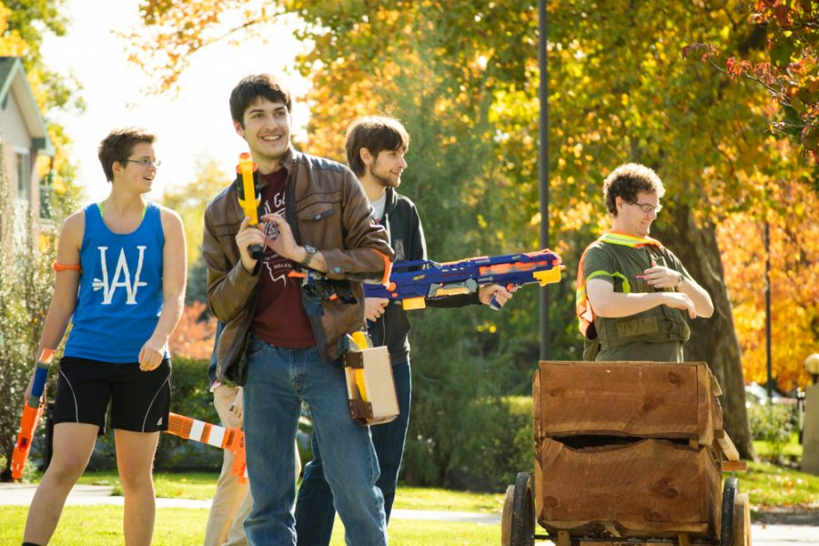 Spotlight On Students: A week of Humans vs. Zombies