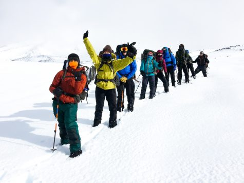 Mt. Adams Mountaineering 4-day Break Trip Oct 6-8, 2016. Photo contributed by The OP Program.