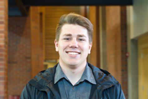 Ryan Garrett smiles for a photo in Reid.