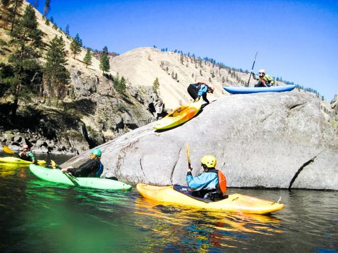 Salmon River Beginning Kayaking Sept 23-25, 2016. Photo contributed by The OP Program.