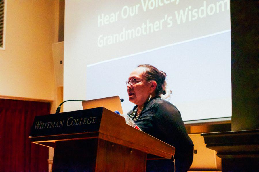 Danita Ryan brings Native American issues to Whitman campus