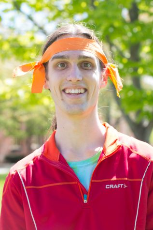 """Ian Becker, Senior: """"Take a deep breath, relax, and go have fun in the wider world."""""""