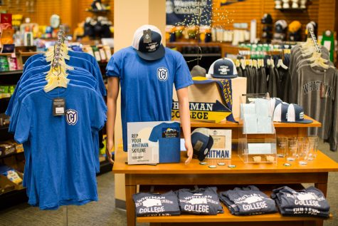 New merchandise in the bookstore. Photo by Taj Howe