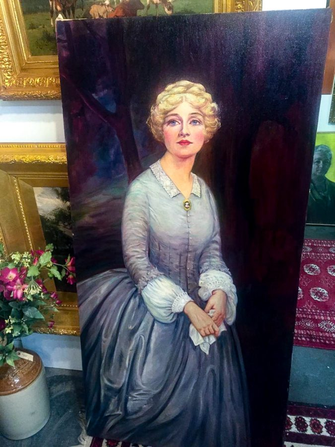 The painting after restoration. Contributed by The Cultural Pearl