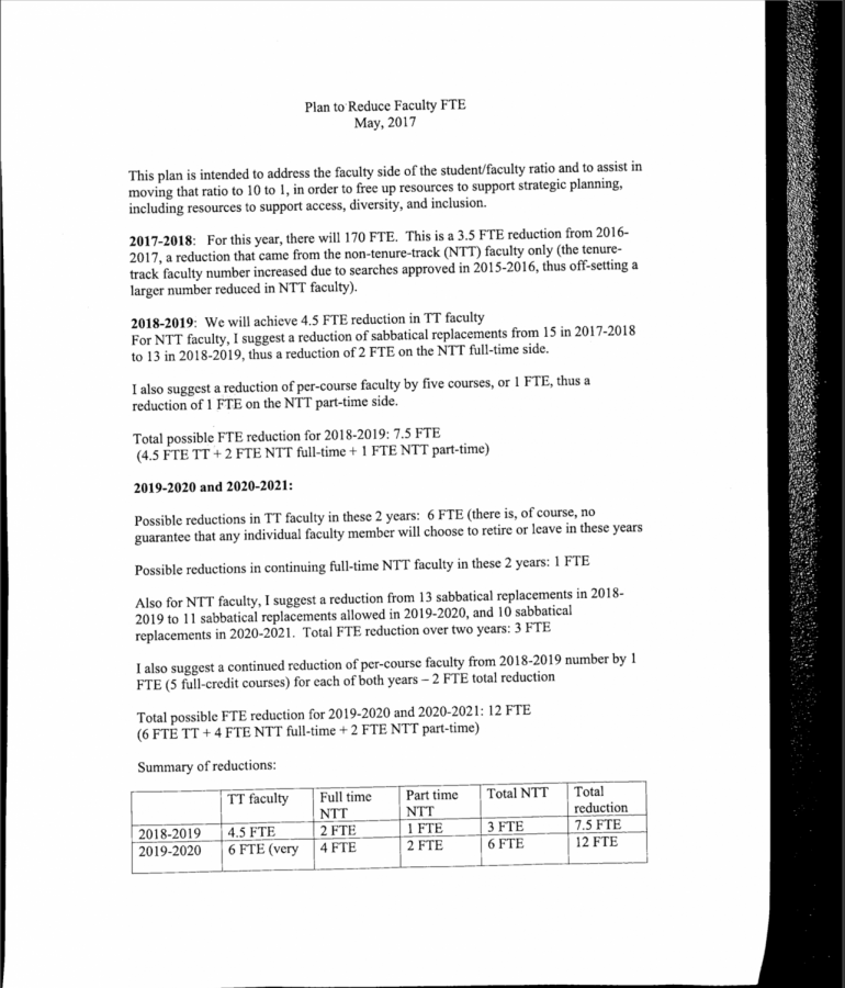Page 1 of the document leaked to The Wire