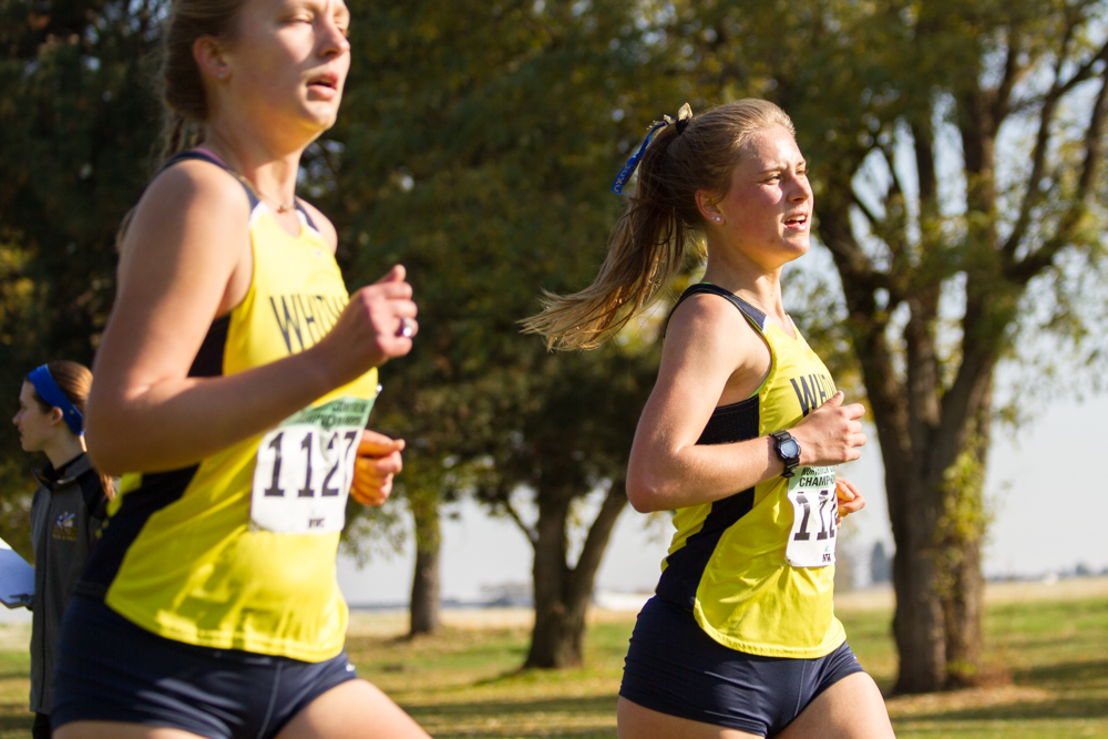 Sophomore+Bryn+Carlson+finished+27th+with+a+time+of+24%3A12.5.+Photo+by+Natalie+Mutter