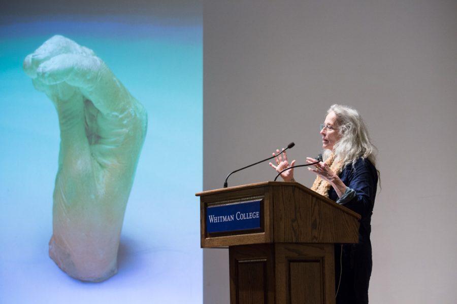 Renowned Artist Kiki Smith Speaks at Whitman