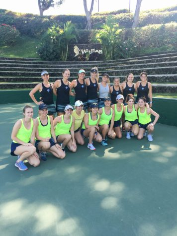 Tennis, Snorkeling, and a Missile Scare: Women's Tennis Takes on Maui