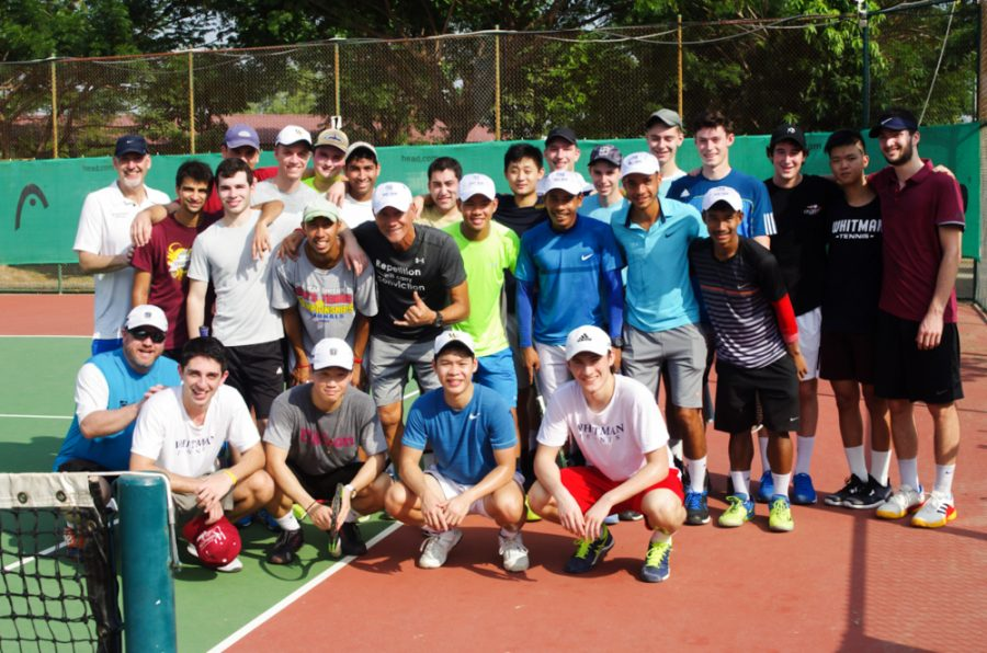 From Cambodian Pros to D1 Foes, Men's Tennis Prepares for 2018 Season