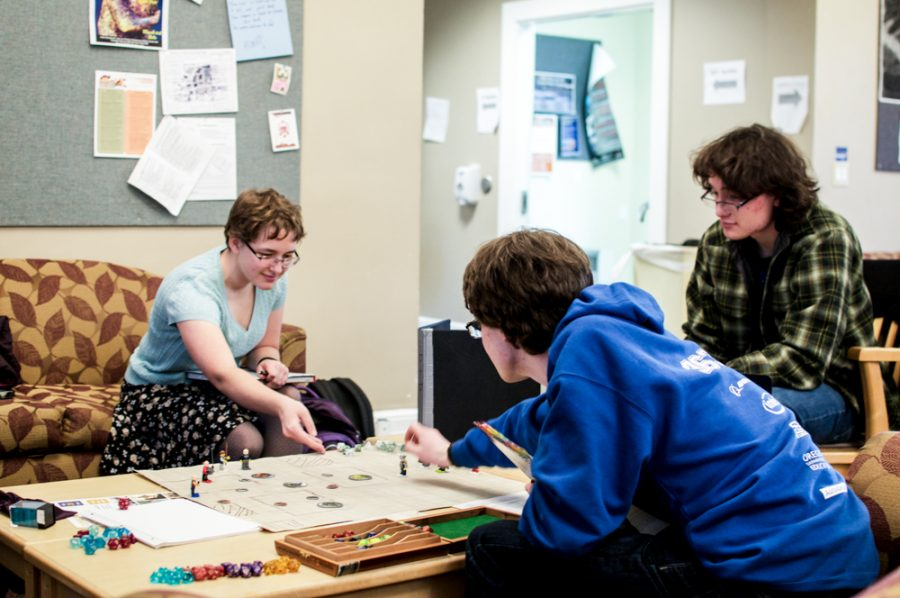 Whitman students have formed various Dungeons and Dragons campaigns on campus, which meet regularly to continue the on- going game.