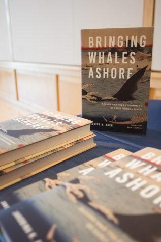 Assistant Professor of History Jakobina Arch released her first book this April on whaling in Early Modern Japan.