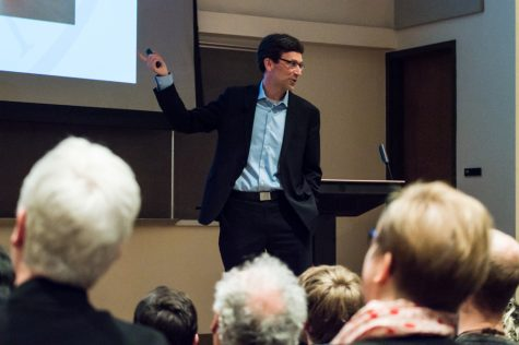 Washington State Attorney Bob Ferguson visited Whitman last Friday to speak about his experience filing a lawsuit against the Trump Administration in response to the executive order to ban travel to the United States from seven majority Muslin nations.