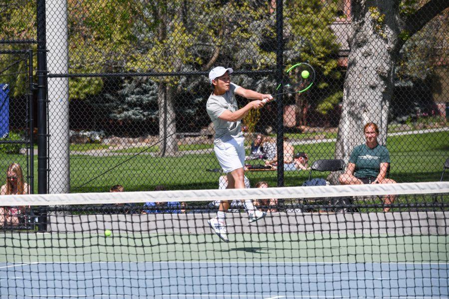 Men's Tennis Ties Consecutive NWC Titles Record