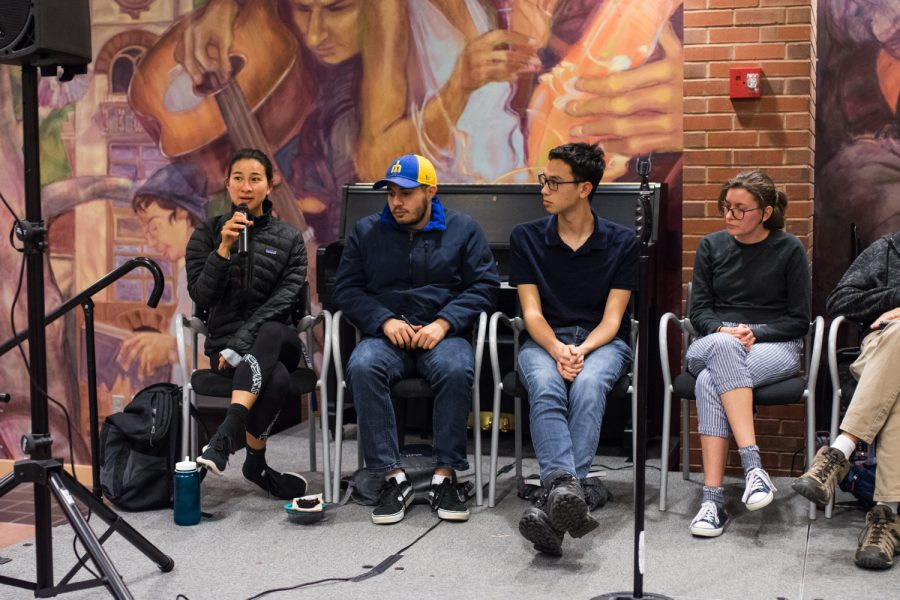 A panel of 4 students and 4 faculty share their ideas for an updated Encounters curriculum and respond to ideas from the crowd at the ASWC Open House on Encounters