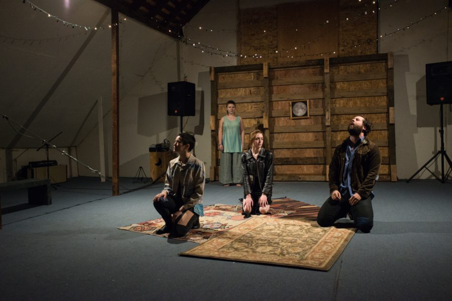 love letters to the world as we would have it is a play by Whitman student Kenzie Spooner 18 that features love letters they have written over the past year.