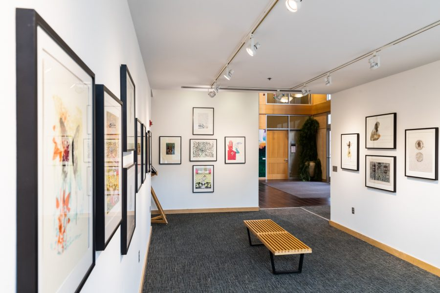 Located in the Reid Campus Center, the gallery of
