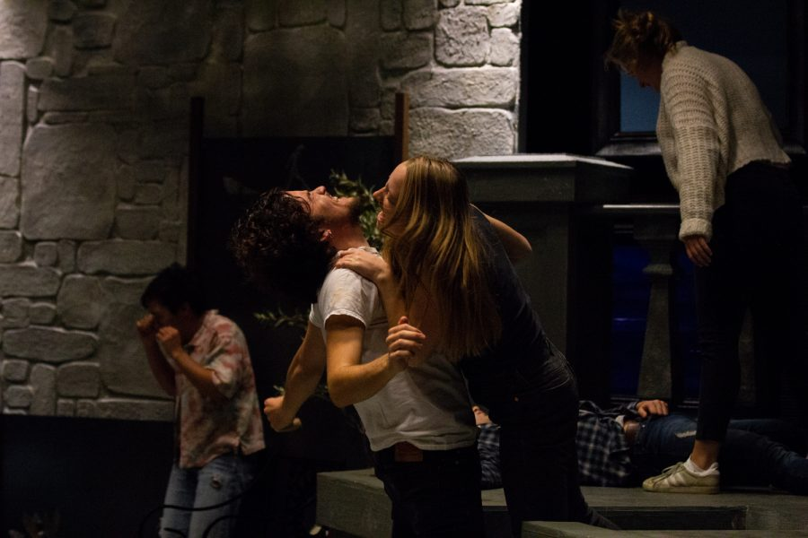 %22Big+Love%22+actors+run+through+a+highly+physical+scene+during+dress+rehearsal.+
