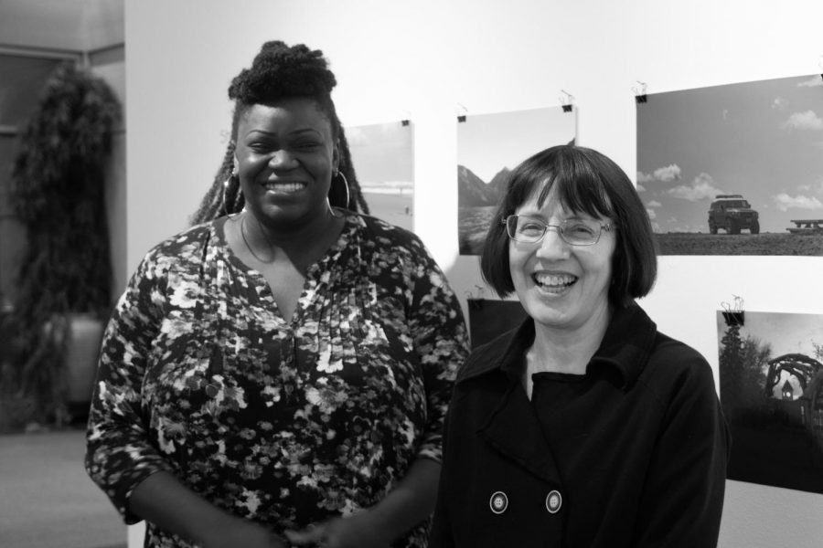 Funmi Oyekunle and Barbara Maxwell spoke about about the process of developing a new pre-orientation that is accessible to more first-year students.