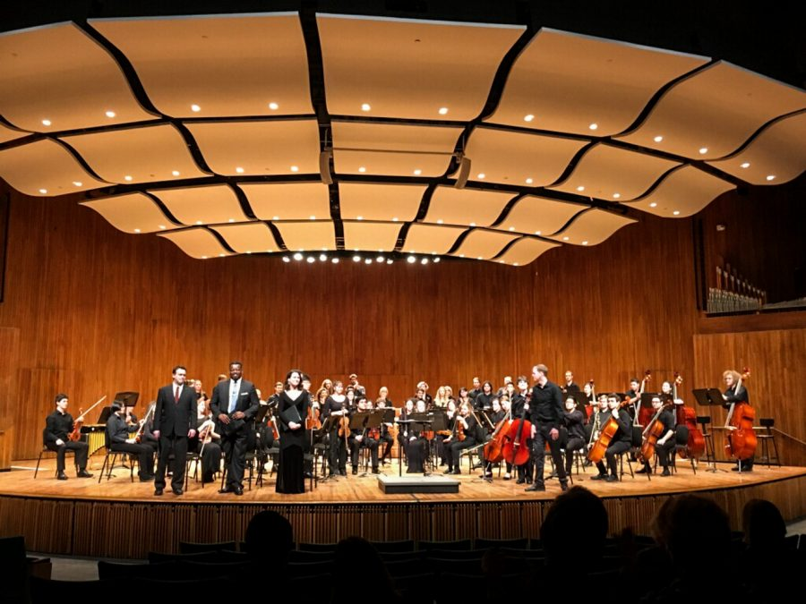 A variety of musical talents were celebrated during the concert in Boston.