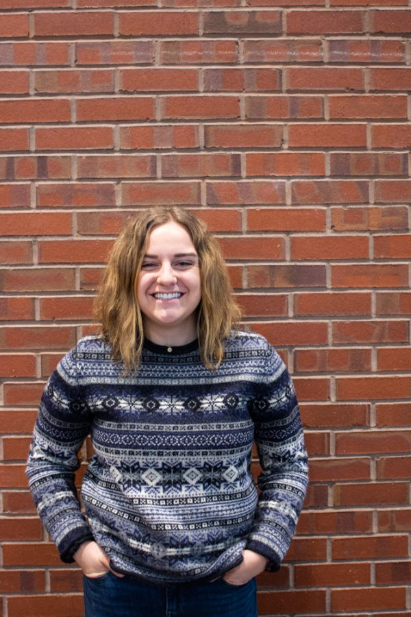 Junior lacrosse player Olivia Engle began her involvement in the Power and Privilege Symposium this year, leading a panel along with other students about Socioeconomic Status at Whitman.