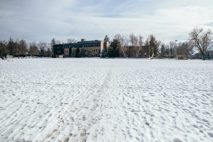 For the last several weeks, Whitman has experiences record snowfall.