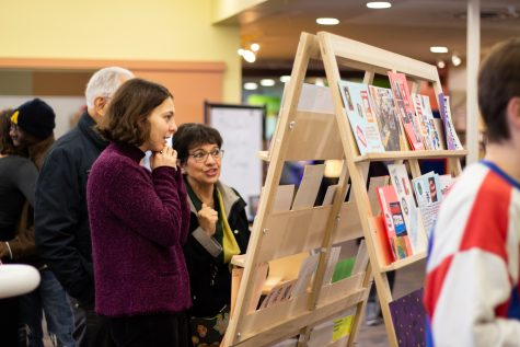 Whitman Teaches the Movement Art Show Opening at Walla Walla Public Library